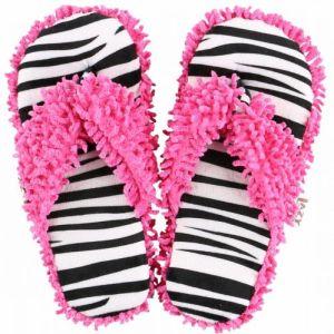 lazy-one-zebra-spa-slippers