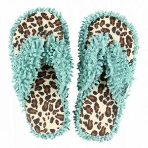 lazy-one-cheetah-spa-slippers