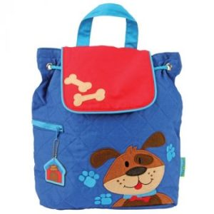 stephen-joseph-dog-quilted-backpack