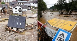 floods hit Europe