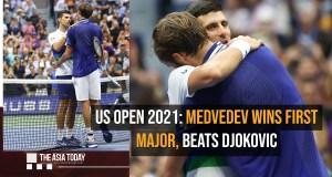 Daniil Medvedev wins US Open 2021,beats Novak Djokovic in final