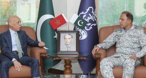 Morocco Envoy Meets Naval Chief