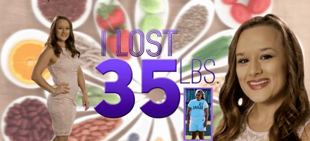 I lost 35 lbs