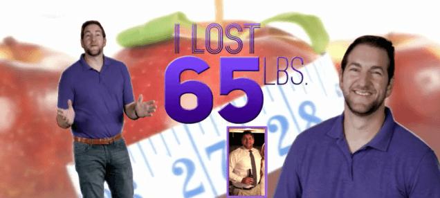 I lost 65 lbs