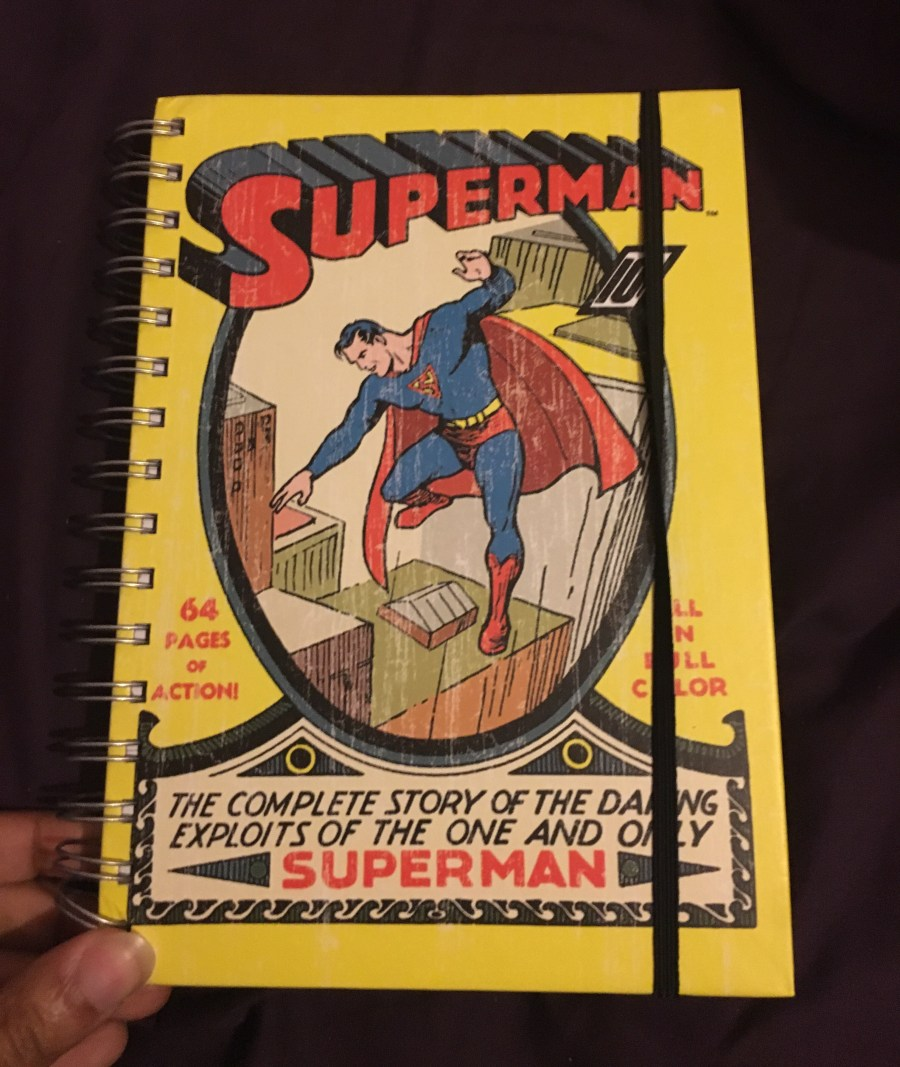 Superman Comic Cover Notebook