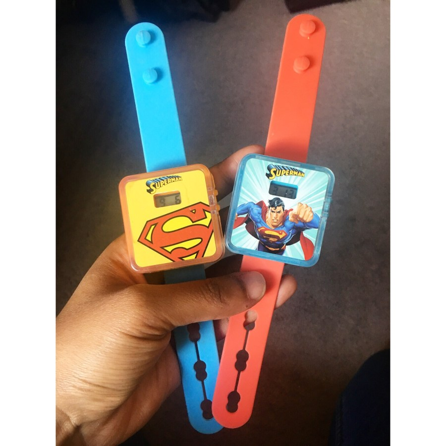 Superman Happy Meal Toys