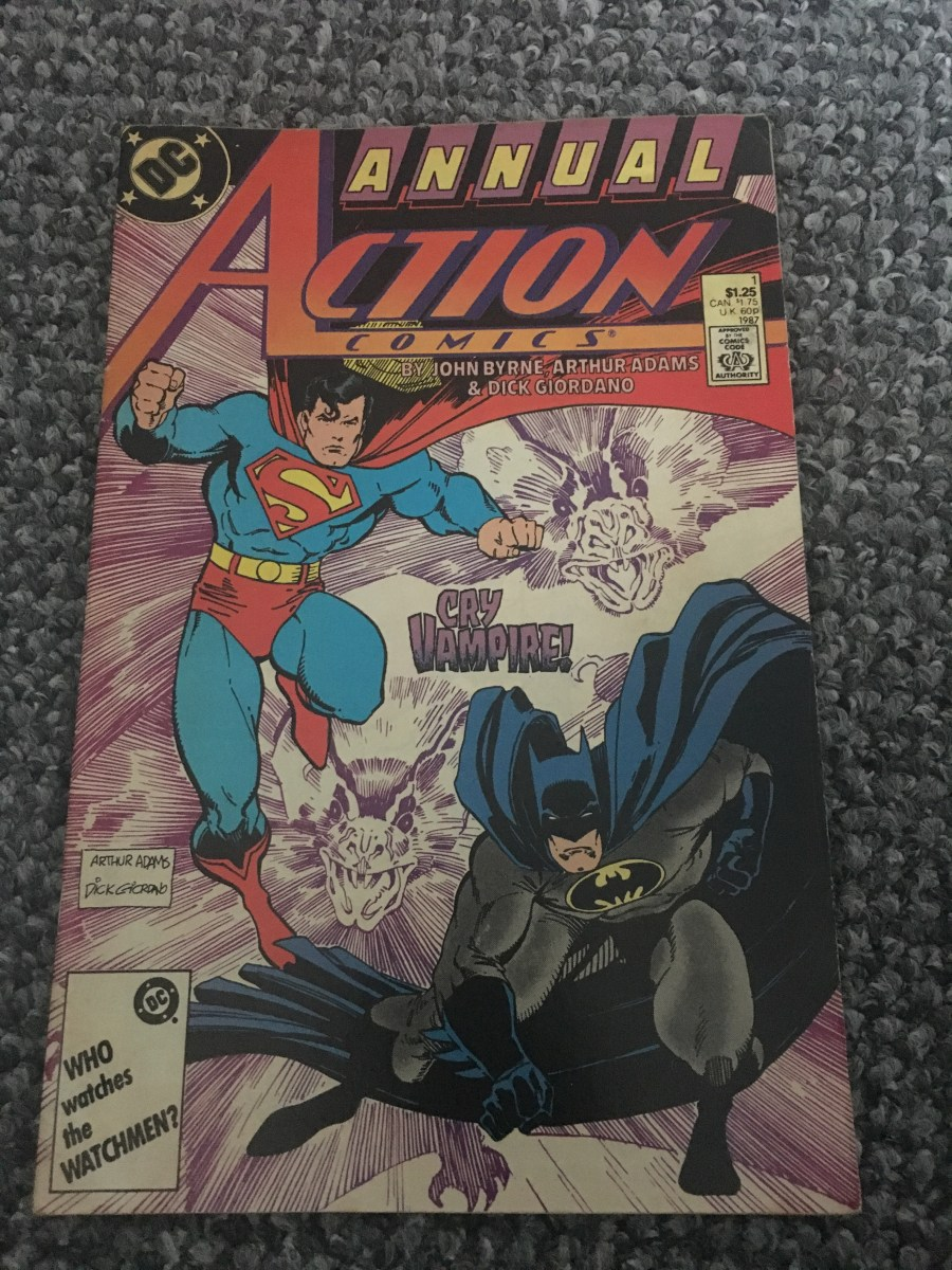 Action Comics Annual - Issue 1