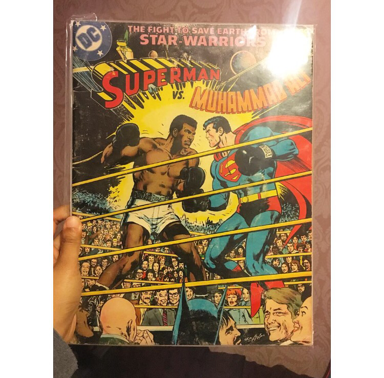 Superman VS Muhammad Ali Comic - first edition.
