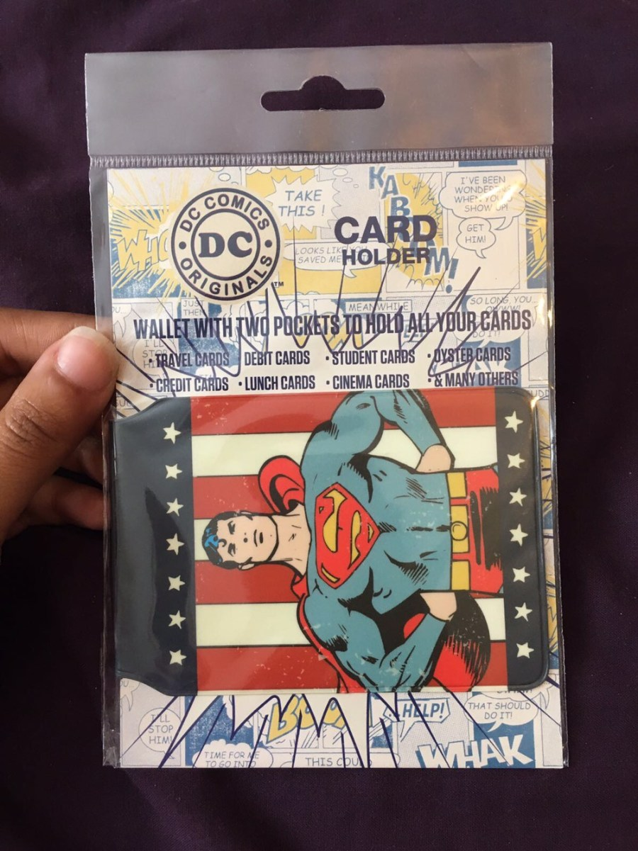 Superman Card Holder