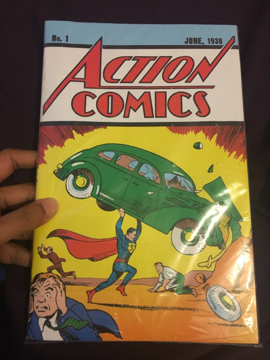 2017 Edition Action Comics #1 Reprint