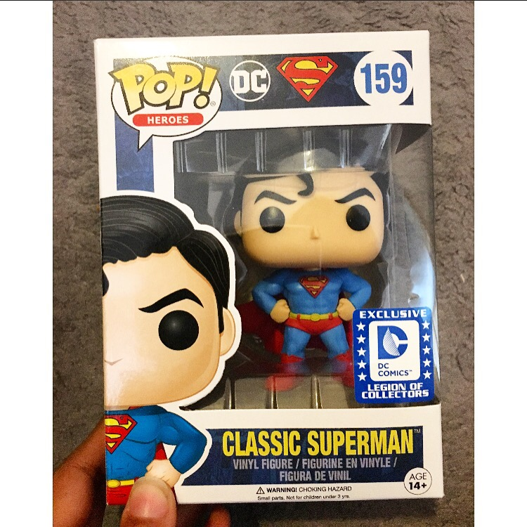 Funko Pop 159: Classic Superman