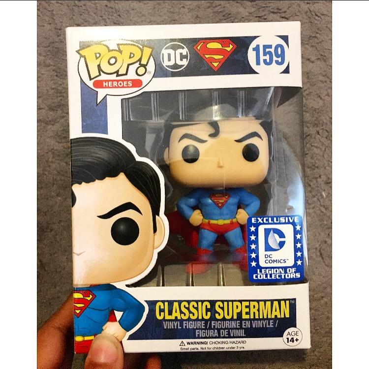 Funko Pop 159: Classic Superman