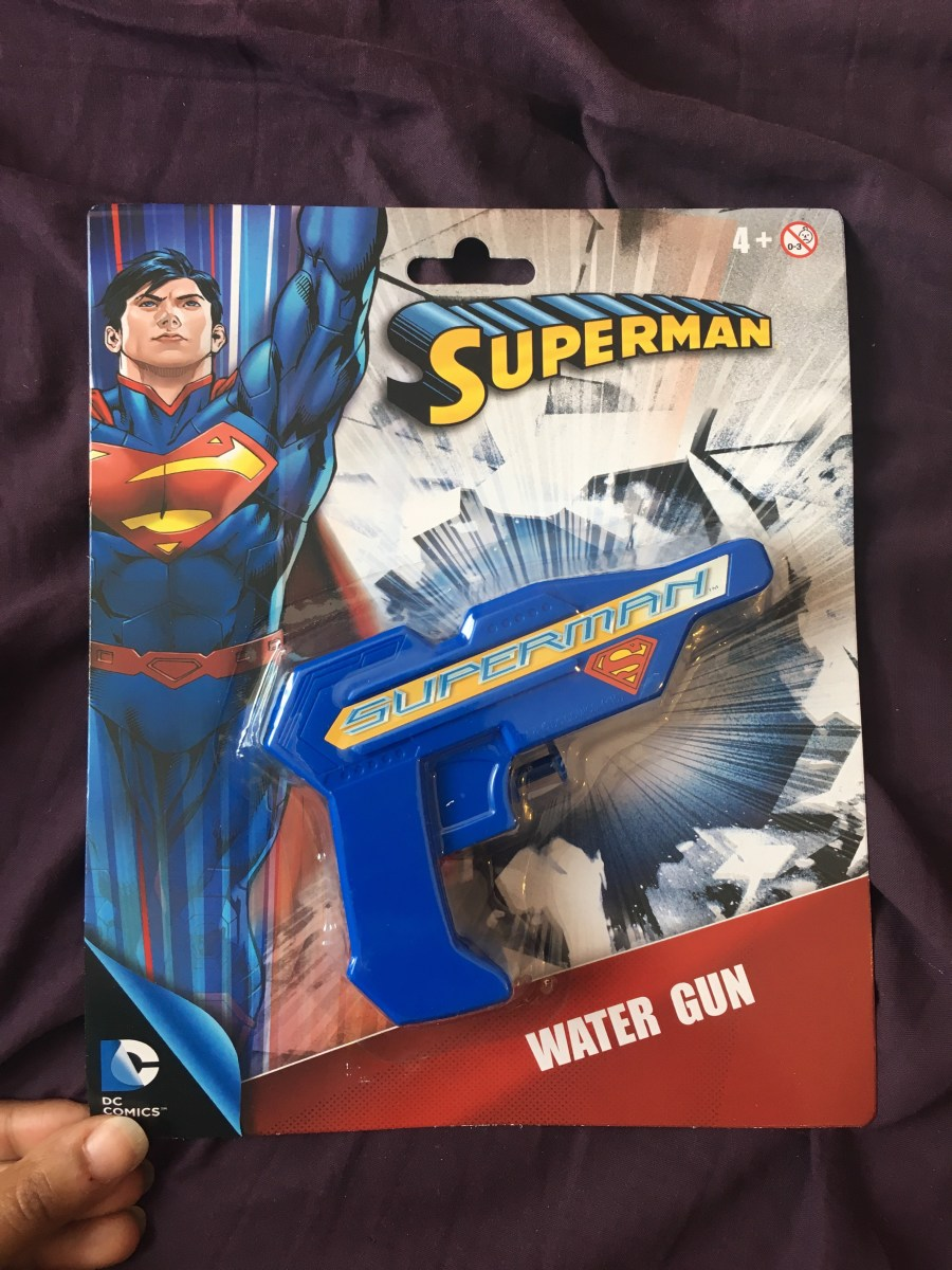 Superman Water Gun