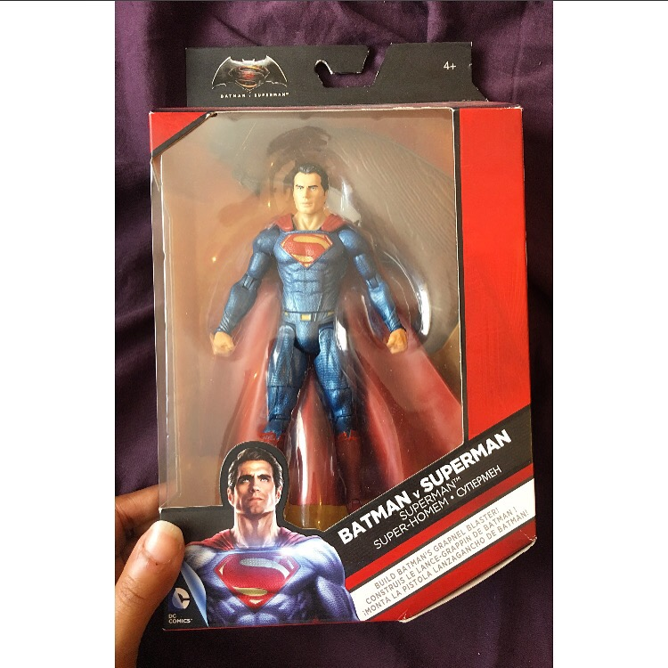 Batman V Superman Figurine - Superman