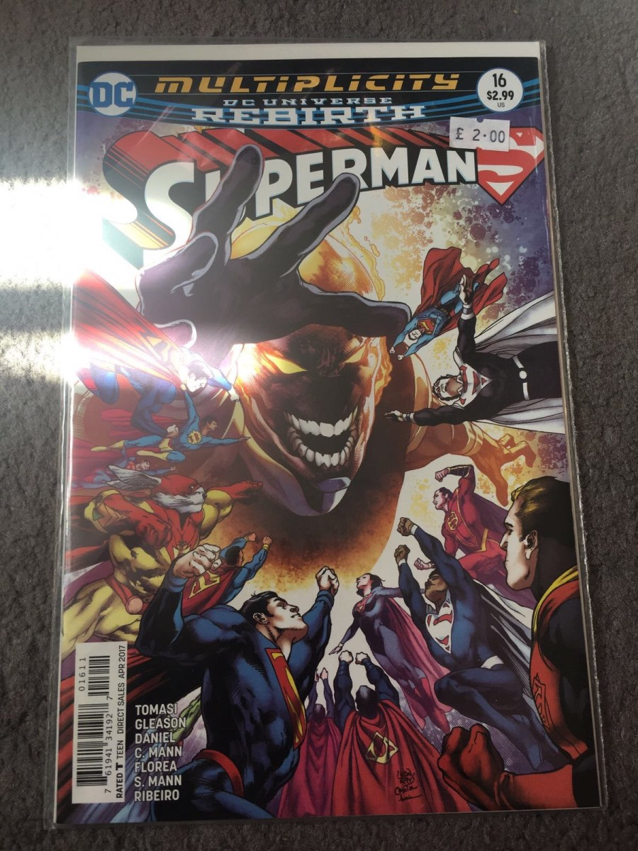DC Comics Rebirth: Superman - Issue 16