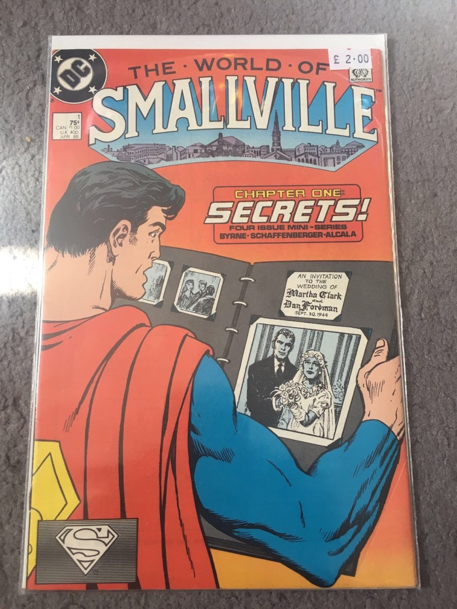 The World of Smallville Comic - Issue 1