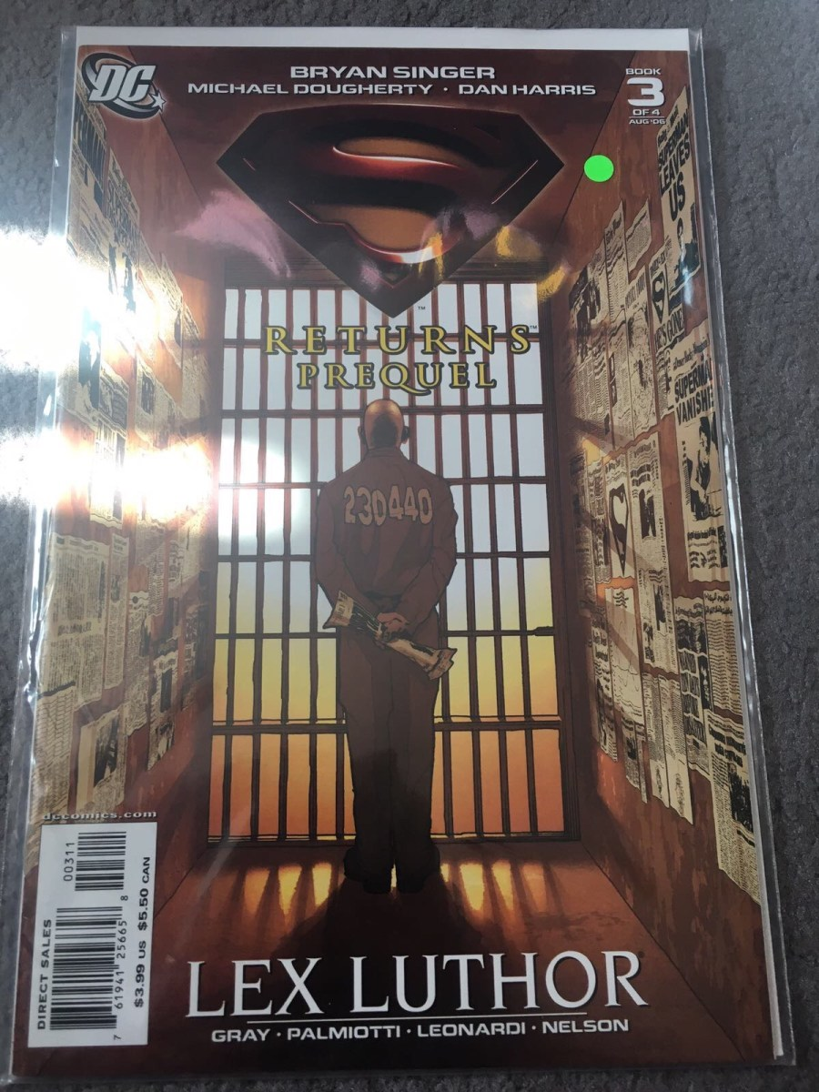 Superman Returns Prequel Comic - Issue 3