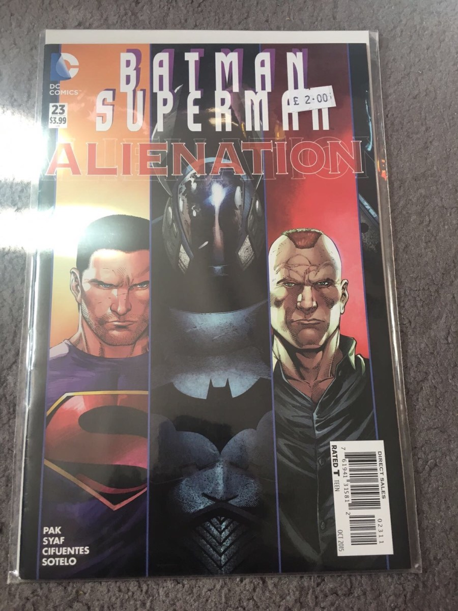 Batman & Superman Comic: Alienation - Issue 23