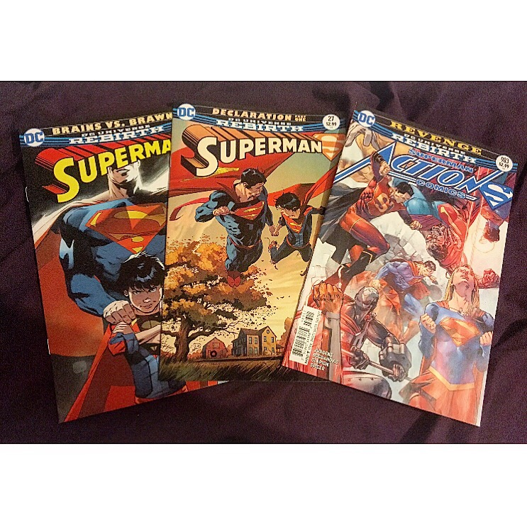 Rebirth Superman Comic – Issues 26 & 27, and Action Comics – Issue 983