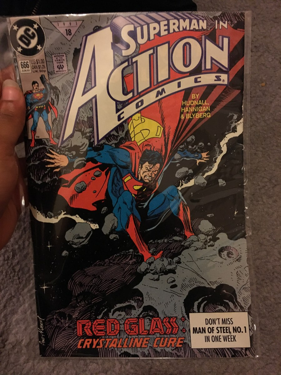 Superman in Action Comics - Issue 666