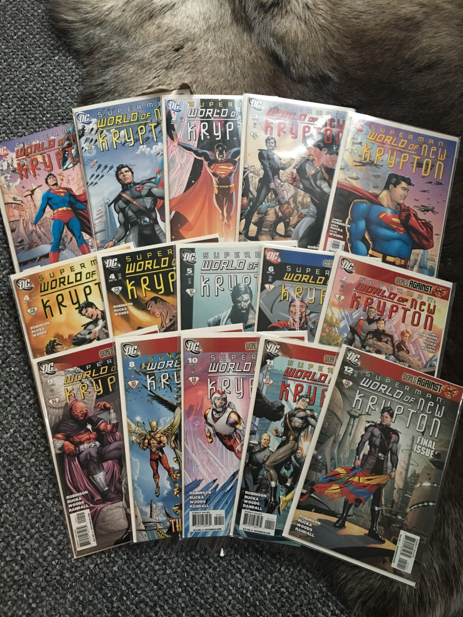 Superman: The World of New Krypton Comics - Issues 1-12
