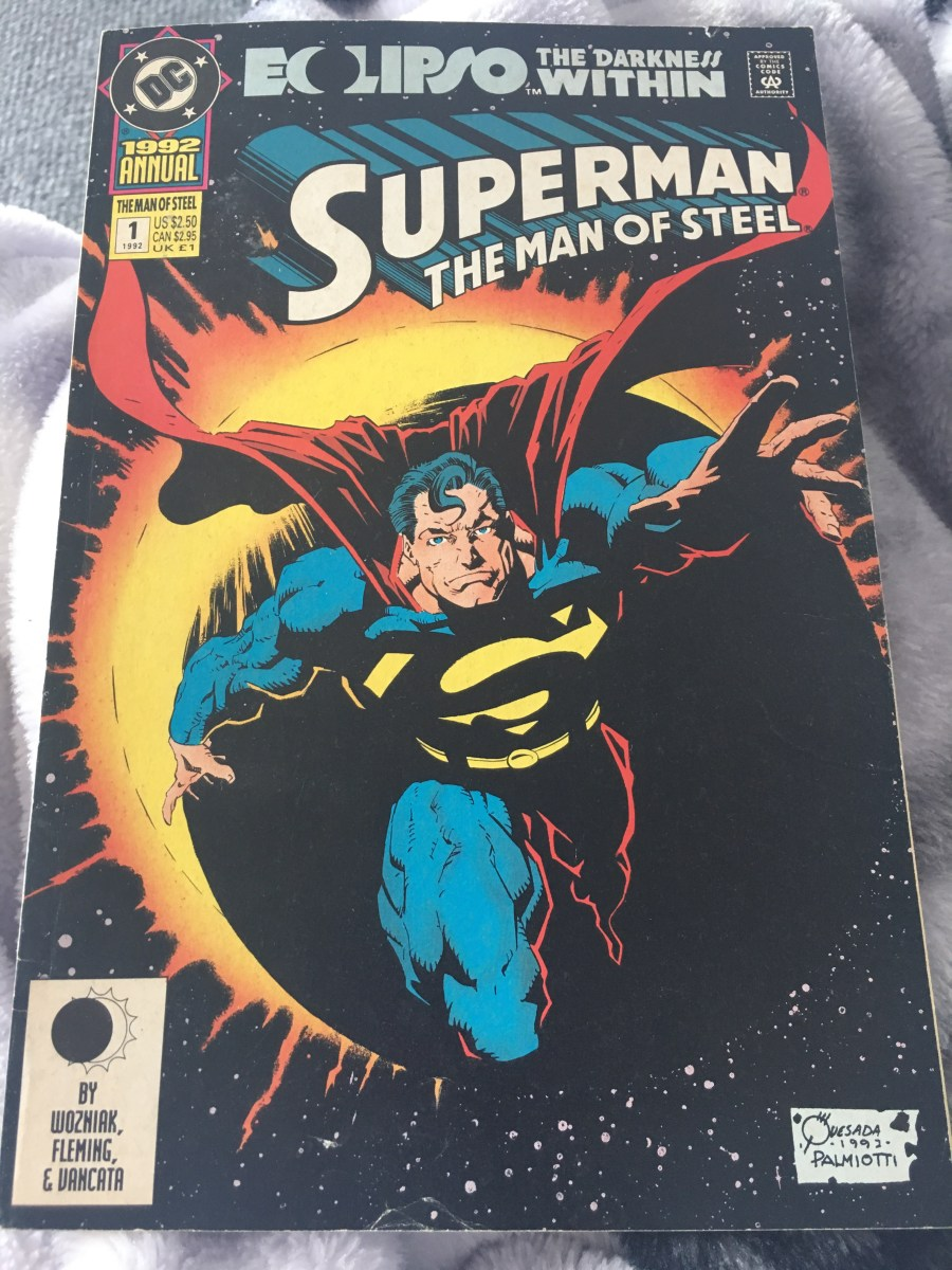 Superman: The Man of Steel Comic - 1992 Annual Issue 1