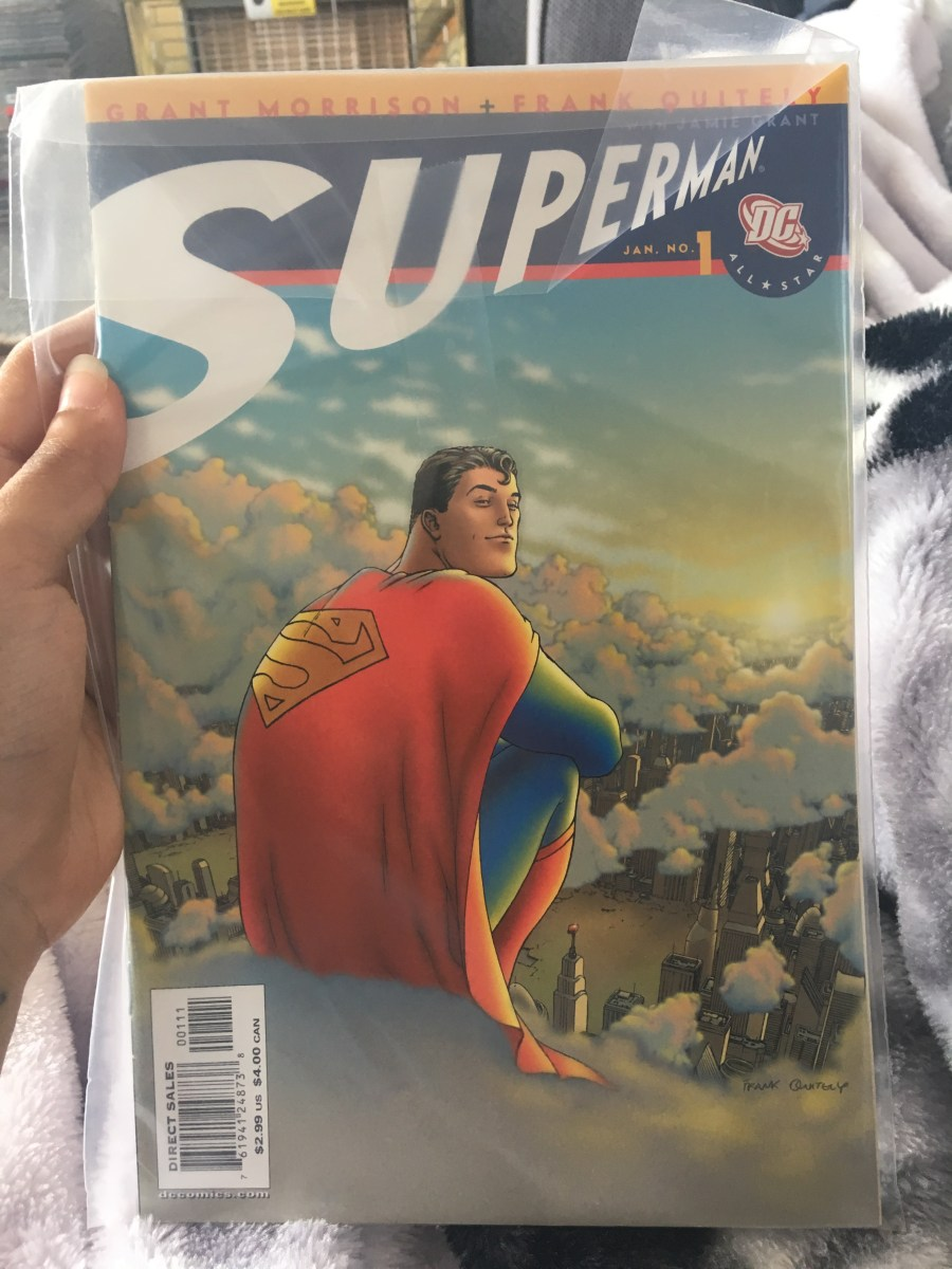 All Star Superman Comic - Issue 1