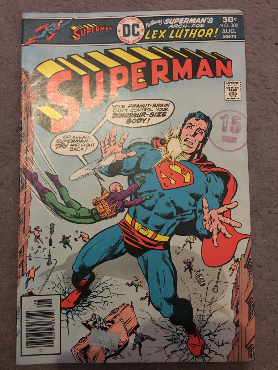 Superman Vol 1 Comic - Issue 302