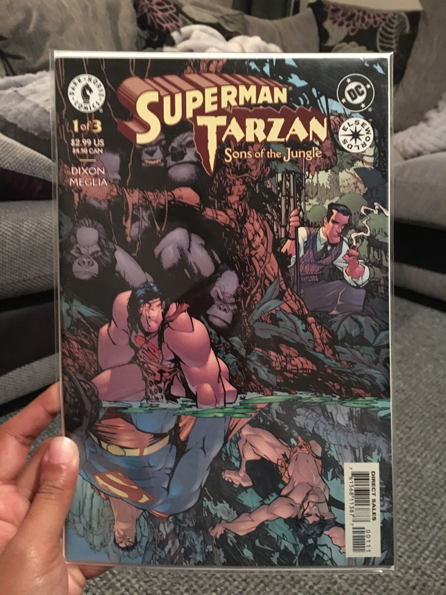Superman / Tarzan: Sons of The Jungle – Issue 1 of 3