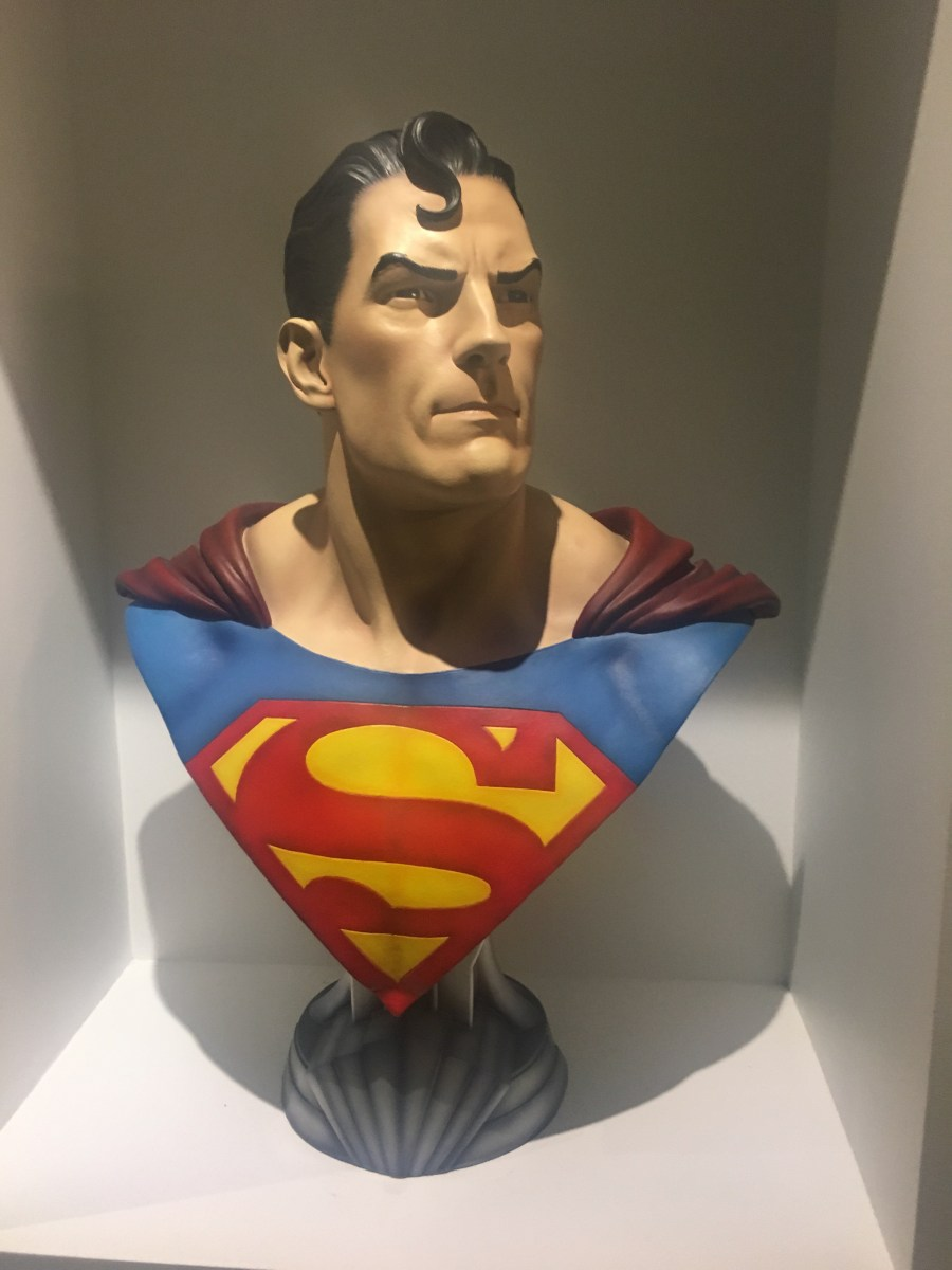 DC Comics Office - Superman Bust