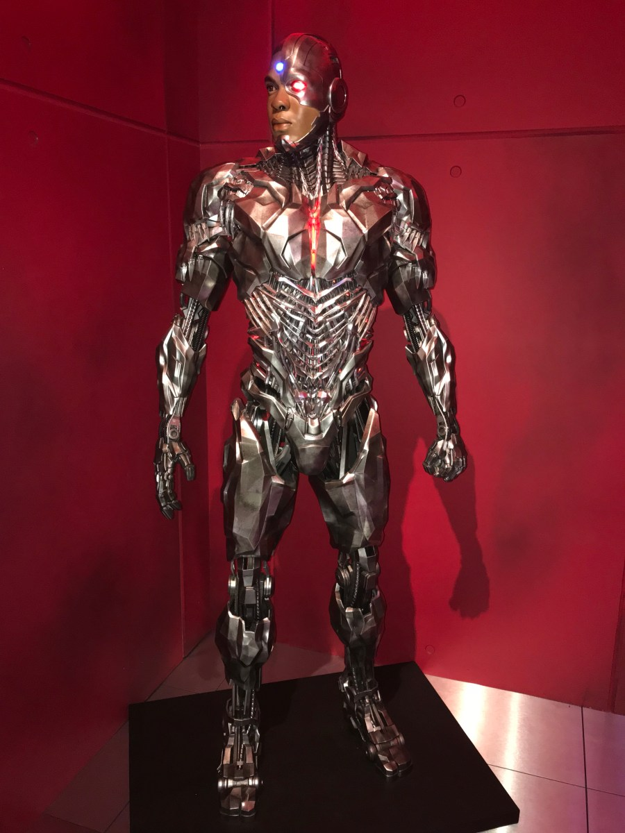 The Justice League Experience, London - Cyborg