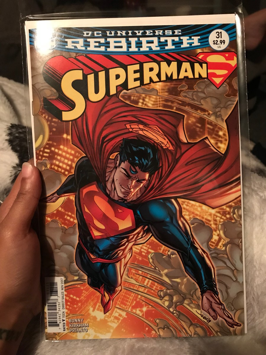 Superman Vol 4 Comic - Issue 31B - Variant Cover