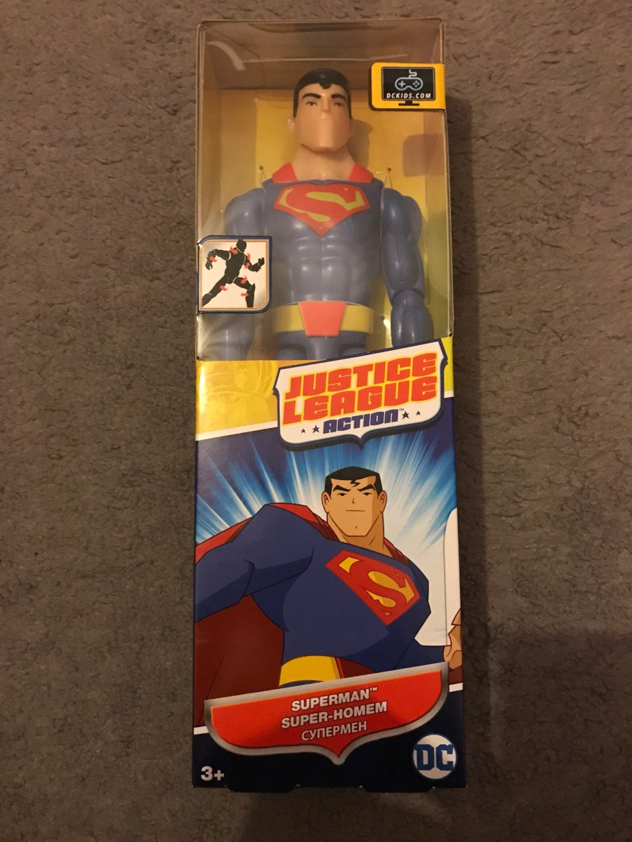 Justice League Action Superman Figurine