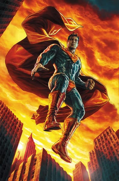 Action Comics 1000 variant by Lee Bermejo