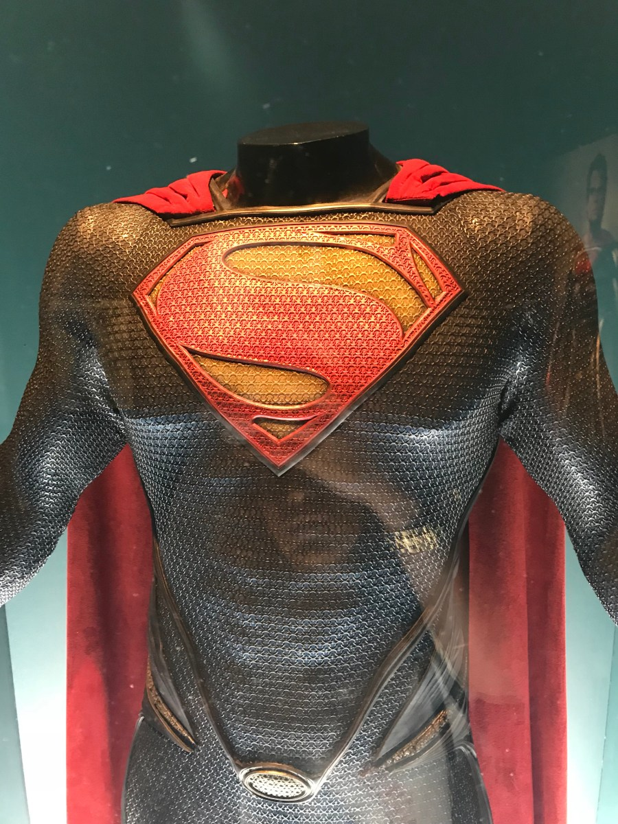Henry Cavill Superman Costume from Man of Steel