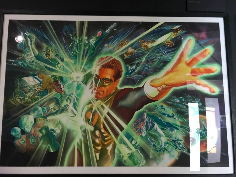 Alex Ross Original Artwork - Green Lantern
