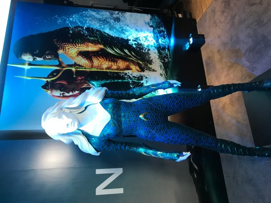 Mera Costume - Aquman London World Premiere