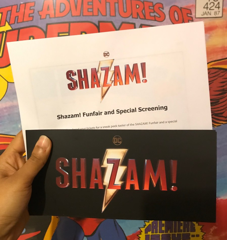 Shazam! Fun Fair and Premiere