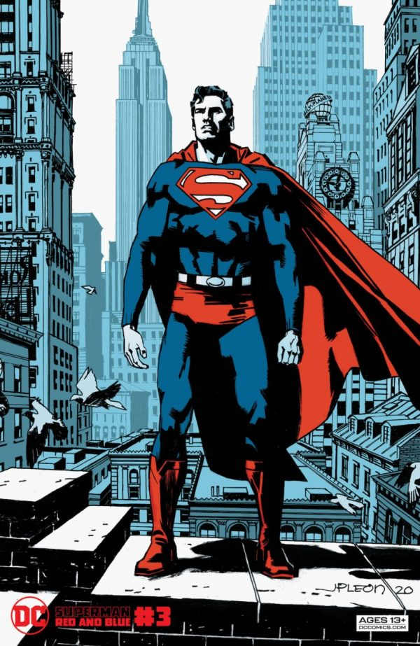 Superman: Red & Blue #3 Review | The Aspiring Kryptonian