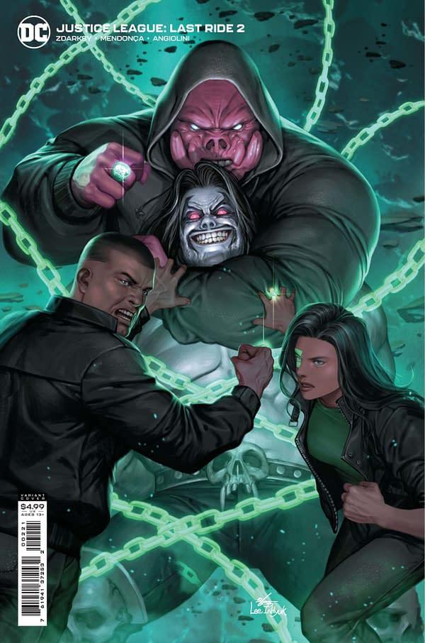 Justice League: Last Ride #2 | The Aspiring Kryptonian