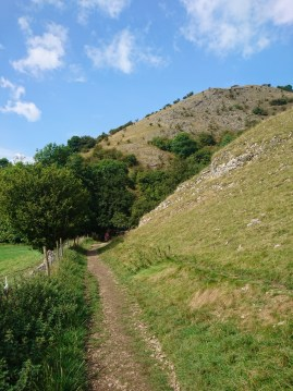 The bottom of Thorpe Cloud - Dovedale