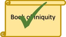 Book of Iniquity check