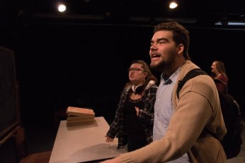 "Fall 2016 Studio Lab #3: ""Columbinus"" at Skidmore College Theater"