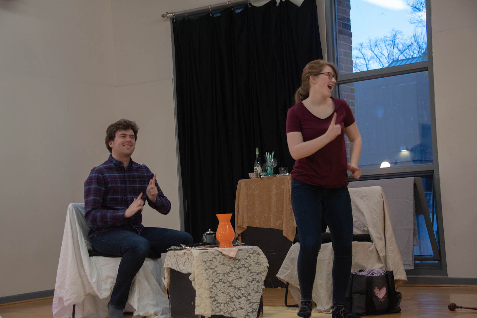"""Spring 2019 New Works Lab: """"Mark and Beth Dish Dreams"""""""
