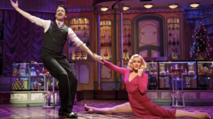 Gavin Creel and Jane Krakowski (Joan Marcus)