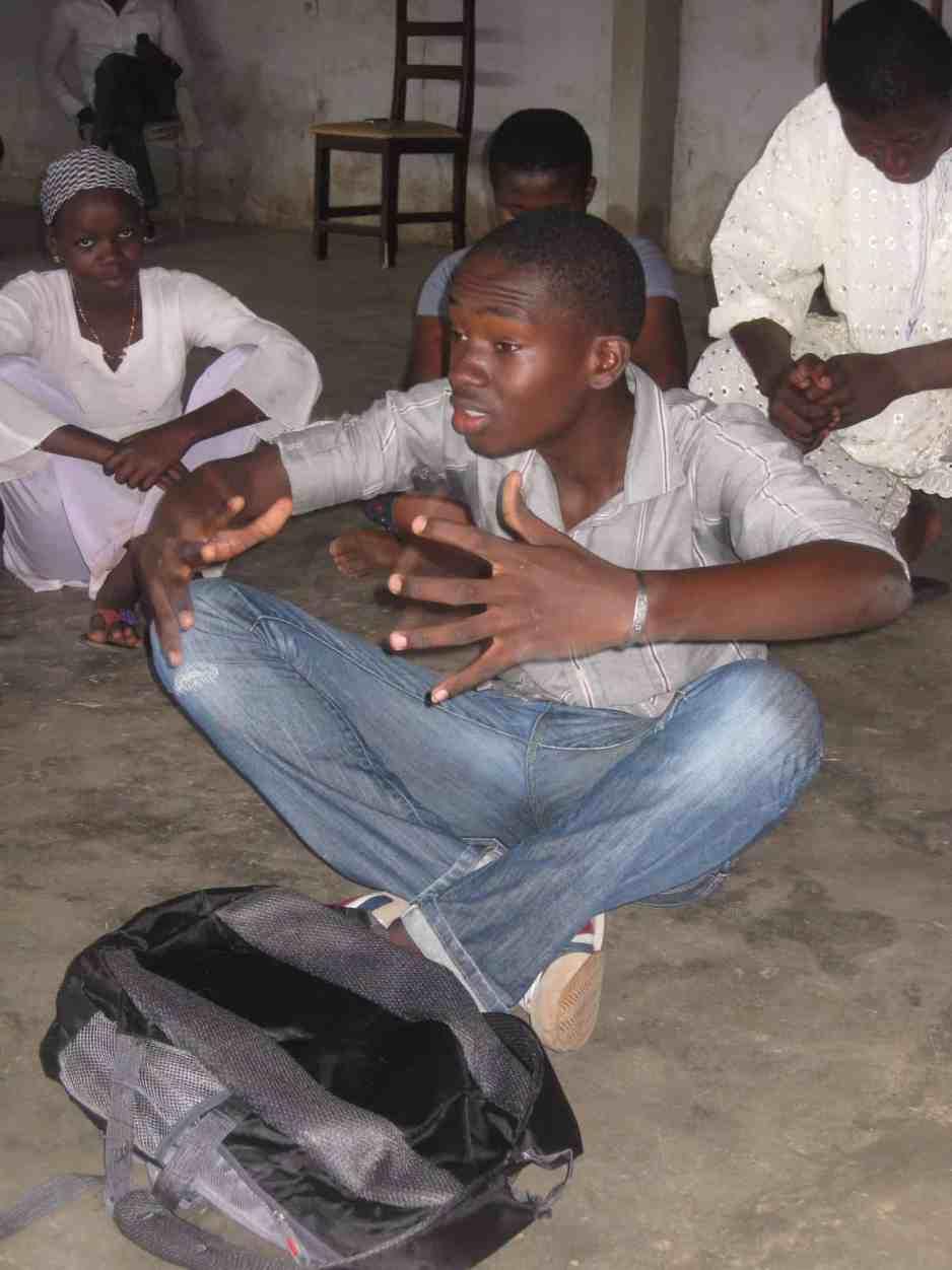 Interkulturelles Jugendtheaterprojekt TTT Afrika - 16