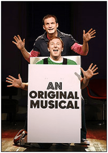 title of show] creator-stars Jeff Bowen and Hunter Bell. photo by Carol Rosegg