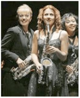 L to R: Elizabeth Stanley, Kelly Jeanne Grant, Angel Desai (Photo: Paul Kolnick)
