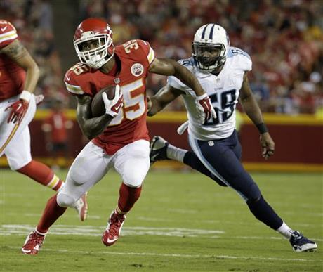 Charcandrick West is slated to become the lead back of the Kansas City Chiefs