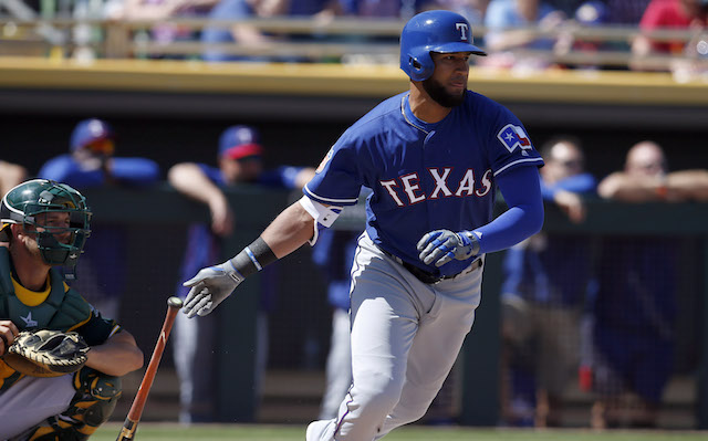 MLB: Spring Training-Texas Rangers at Oakland Athletics